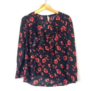 Black Rose New Directions Blouse PM
